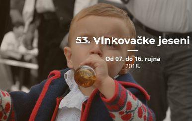 Reklamni plakat za Vinkovačke jeseni (Foto: http://vinkovackejeseni.hr/)