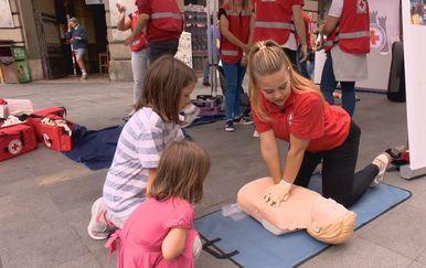 Povodom Svjetskog dana prve pomoći, Crveni križ organizirao tečaj osnova prve pomoći (Foto: Dnevnik.hr) - 3