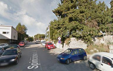 Spinčićeva ulica u Splitu (Screenshot: Google Maps)