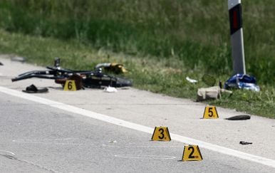 Prometna nesreća s biciklom (Foto: Arhiva/Marko Jurinec/PIXSELL)