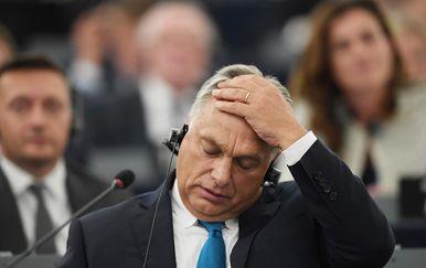 Viktor Orban u Europskom parlamentu (Foto: AFP)