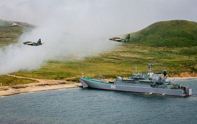 Vojne vježbe ruske vojske (Foto: AFP)