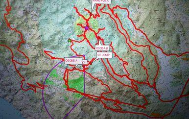 Uspješno okončana trodnevna potraga na području Baških Oštarija (Foto: HGSS) - 2