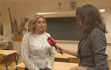 Sanja Šprem, Sindikat hrvatskih učitelja, i Sanja Vištica (Foto: Dnevnik.hr)