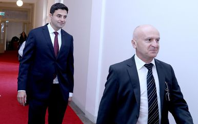 Davor Bernardić i Predrag Matić (Foto: Patrik Macek/PIXSELL)