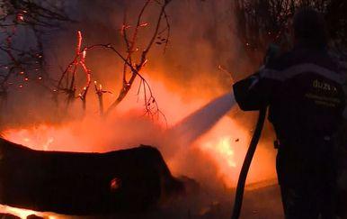 Vatrogasci gase požar koji kara Pelješcom (Foto: Dnevnik.hr)
