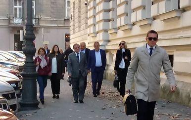 Milan Bandić stiže na pripremno ročište za aferu Agram (Foto: Dnevnik.hr)