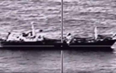 Testiranje ruskog protubrodskog projektila (Screenshot: Телеканал Звезда/Youtube)
