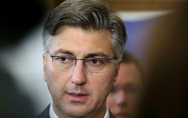 Andrej Plenković (Foto: Dalibor Urukalovic/PIXSELL)