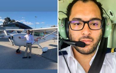 Max Sylvester prizemljio avion na prvom letu (Foto: Instagram)