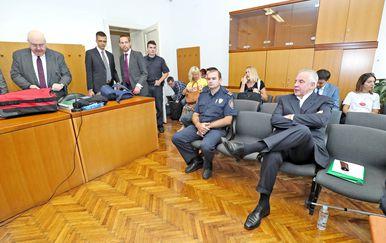 Nastavljeno suđenje Ivi Sanaderu u slučaju INA-MOL (Foto: Sanjin Strukic/PIXSELL)