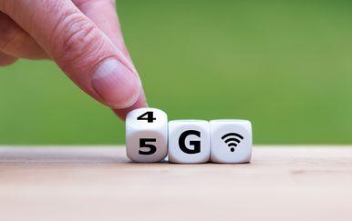 5G mreža, ilustracija