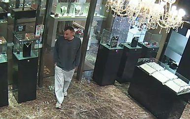 Policija traži muškarca s fotografije (Foto: PU zagrebačka)
