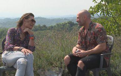 Jasmin Stavros i Davor Garić (Foto: IN Magazin)