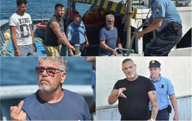 Policija uhitila talijanske ribare kod Dugog otoka (Foto: Dino Stanin/PIXSELL)