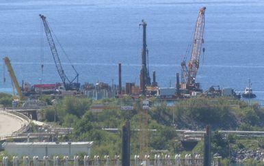 Pristanište za plutajući LNG terminal (Foto: Dnevnik.hr)