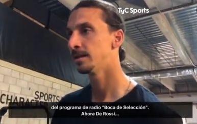 Zlatan Ibrahimović (Screenshot: Twitter)