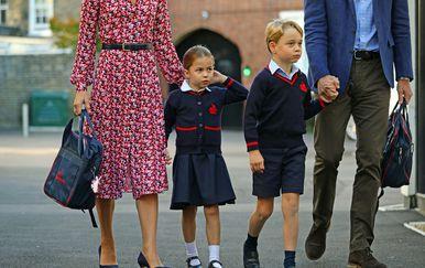 Princeza Charlotte, princ George (Foto: Profimedia)