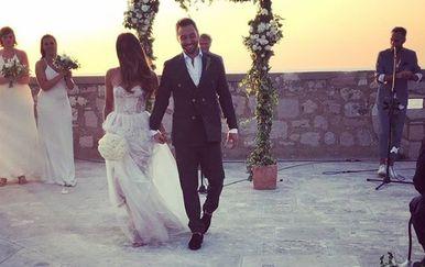 Mans Zelmerlow i Ciara Janson (Foto: Instagram)