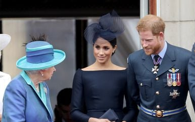 Meghan Markle, princ Harry, kraljica Elizabeta (Foto: Getty Images)