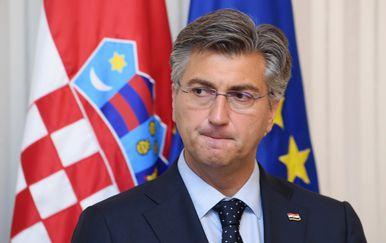 Premijer Andrej Plenković (Foto: Marko Lukunic/PIXSELL)