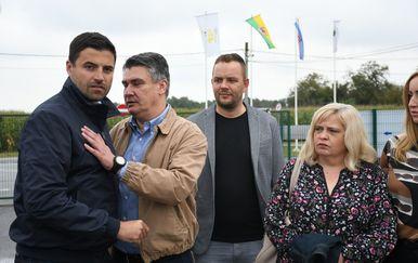 Davor Bernardić i Zoran Milanović na sajmu u Gudovcu (Foto:Damir Spehar/PIXSELL)