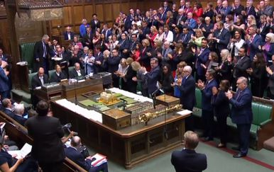 Britanski parlament (Foto: AFP) - 2