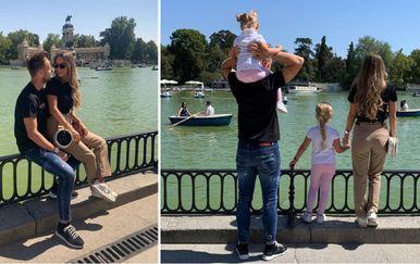 Ivan Rakitić sa suprugom u Madridu (Instagram)