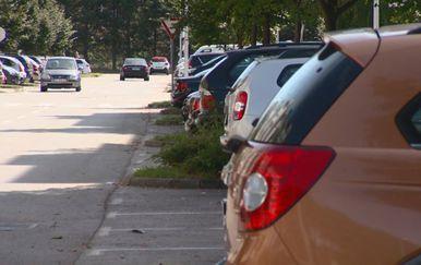 Pogled s parkiranog automobila (Foto: Dnevnik.hr)