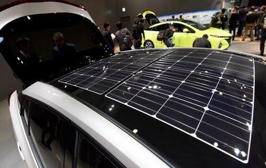 Solarne ćelije na automobilu
