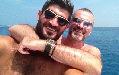 Fadi Fawaz i George Michael (Foto: Profimedia)