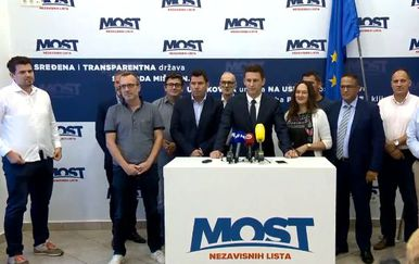 Most o predsjedničkim izborima (Foto: Dnevnik.hr)