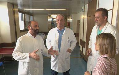 Liječnici koji su spasili šaku Dražena Bužana i Katarina Jusić (Foto: Dnevnik.hr)
