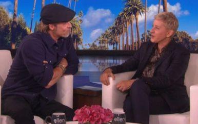Brad Pitt i Ellen DeGeneres (Foto: Profimedia)