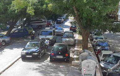 Potjera u Splitu (Foto: Dalmacija danas)