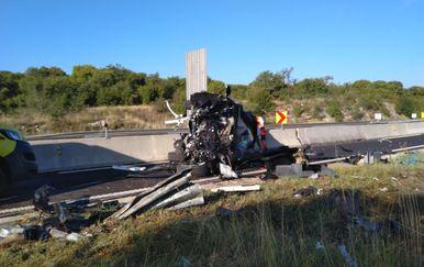 Prometna nesreća na Istarskom ipsilonu, ilustracija (Foto: JVP Rovinj)