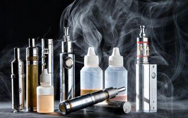 Električne cigarete, ilustracija (Foto: Davor Puklavec/PIXSELL)