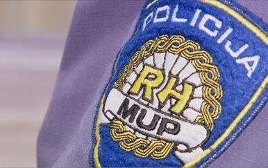 MUP-ov grb na policijskoj odori (Foto: Dnevnik.hr)