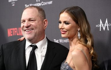 Harvey Weinstein i Georgina Chapman (Foto: AFP)