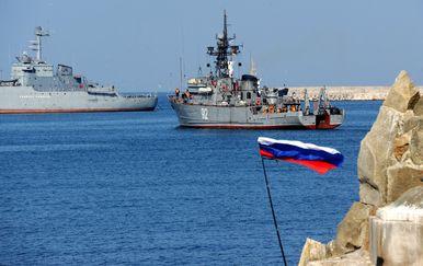 Ruski brodovi, ilustracija (Foto: AFP)
