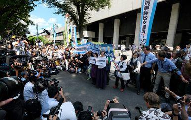 Građani razočarani presudom bivšim direktorima elektrane u Fukushimi (Foto: AFP)
