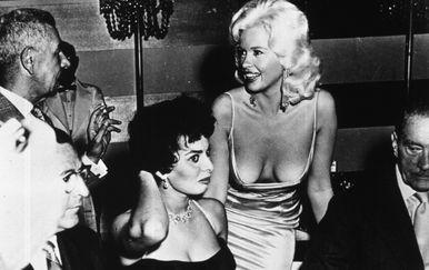Sophia Loren i Jayne Mansfield