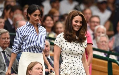 Meghan Markle i Kate Middleton (Foto: AFP)