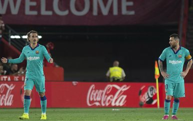 Antoine Griezmann i Lionel Messi (Foto: AFP)