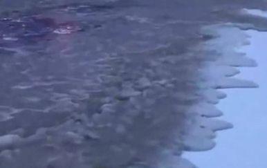 Smrznuti valovi (Foto: Screenshot/YouTube)
