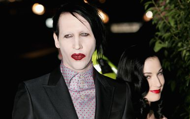 Marilyn Manson i Dita Von Teese (Foto: Getty Images)