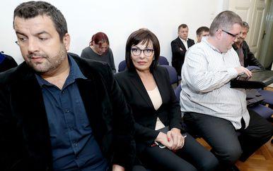 Na Županijskom sudu nastavljeno suđenje bivšoj županici Marini Lovrić Merzel (Foto: Sanjin Strukic/PIXSELL)