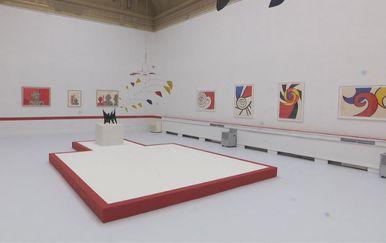 Izložba američkog kipara Alexandera Caldera (Foto: Dnevnik.hr)