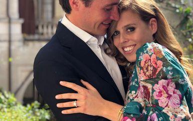 Princeza Beatrice i Edoardo Mapelli Mozzi (Foto: Instagram)