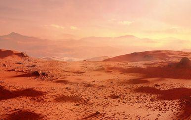 Površina Marsa (Ilustracija: Getty)